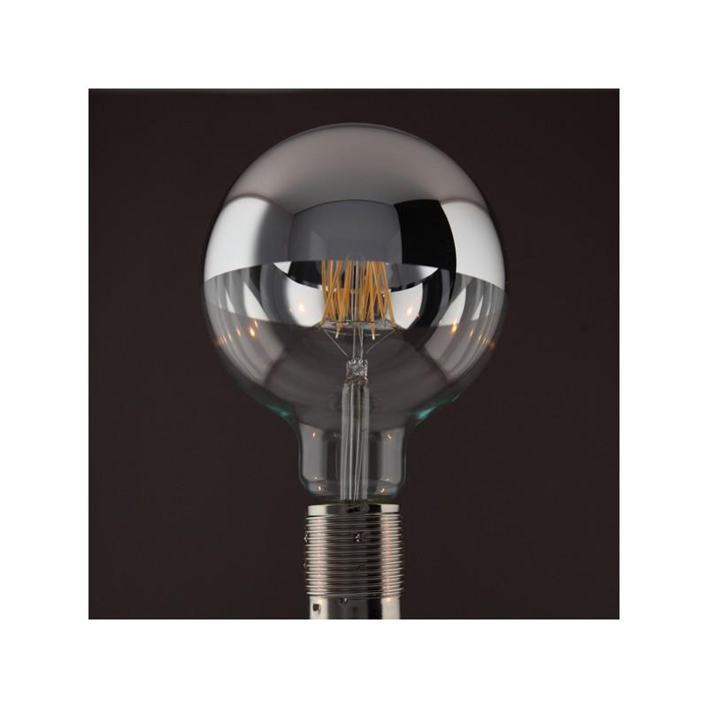 GLOBE LED CALOTTE ARGENTEE 6 W D125 E27