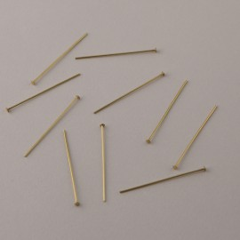 EPINGLE LAITON - LOT DE 10 PIECES