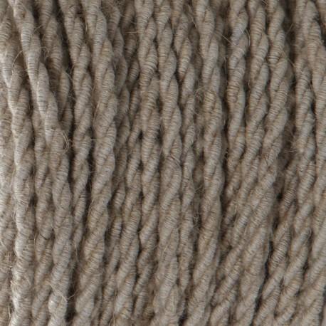 Câble textile torsadé 2x0.75mm² Lin - Falbala-luminaires