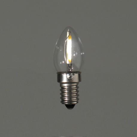 Flamme Eglise led - E14 - 1W - Falbala-luminaires