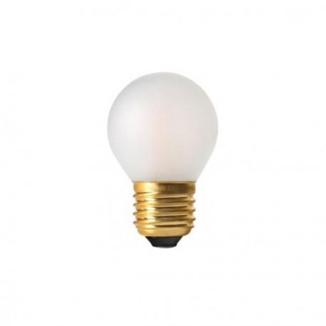 Sphérique filament led satinée E27 - 4W - Falbala-luminaires