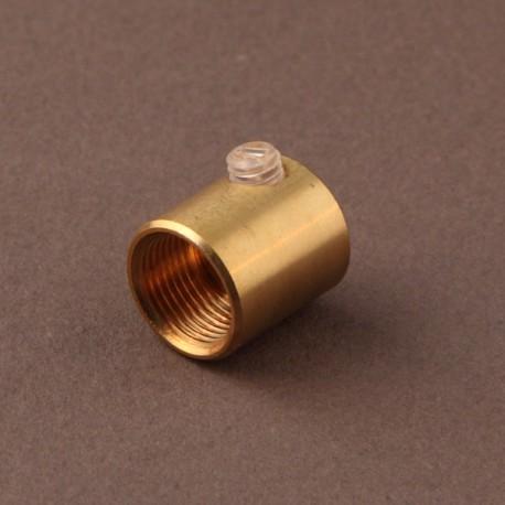 Serre-câble femelle 13x1 laiton - Falbala-luminaires