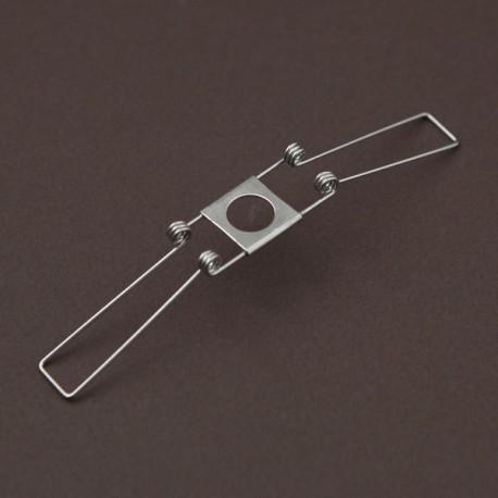 lot de 6 Ressorts 80 mm pour verrerie luminaires abat jour trou de 10,5 mm