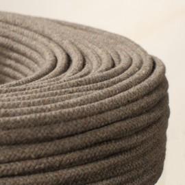 Câble textile Bruyère résille