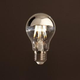 STANDARD LED CALOTTE ARGENTEE E27 6W