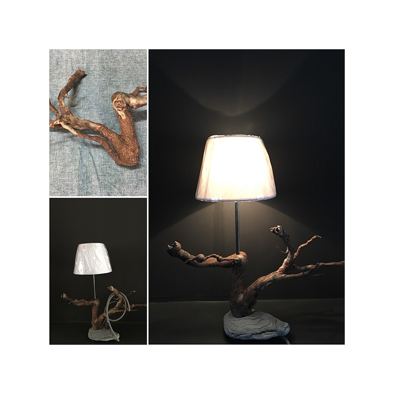 creations en bois flotte par like fred falbala luminaires. Black Bedroom Furniture Sets. Home Design Ideas