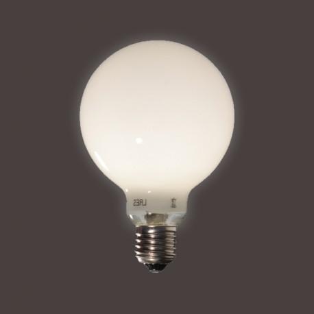 Globe opale D95 - E27 - 9W - Falbala-luminaires