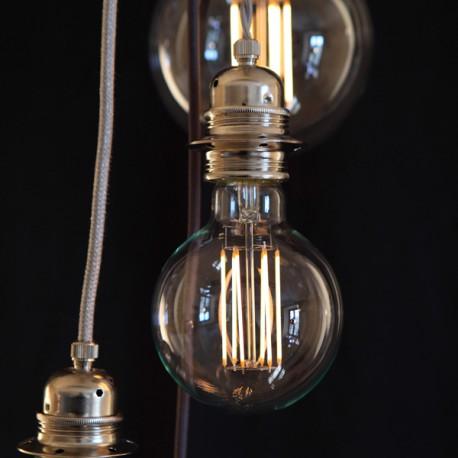 Globe filament long D95 - E27 - 6W - Falbala-luminaires