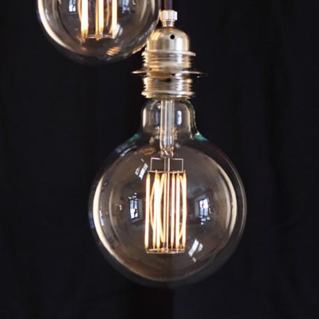 Globe filament long D125 - E27 - 8W - Falbala-luminaires