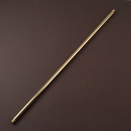 TIGE LISSE DOREE 500 mm BOUTS FILETES 10 x 1