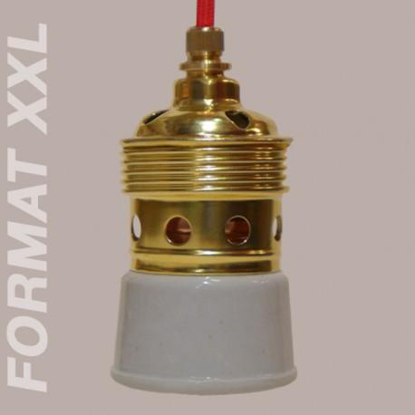 Douille E40 laiton rétro - Falbala Luminaires