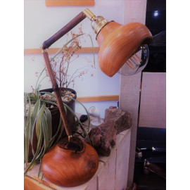 Les lampes en bois tourné par Achille Créations