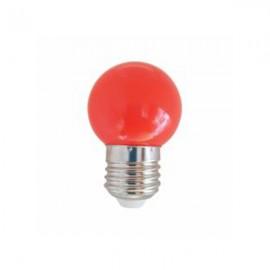 SPHERIQUE LED OPALE E27 0,9W ROUGE