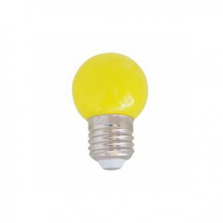 SPHERIQUE LED OPALE E27 0,9W JAUNE
