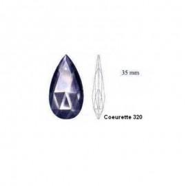 Coeurette 35mm pour lustre - Falbala-luminaires