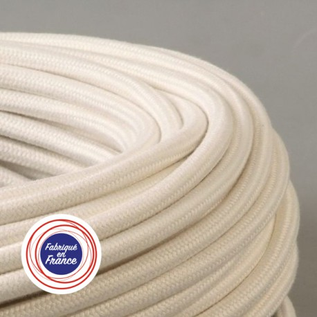 Câble textile Bambou 2x0.75mm² - Falbala-luminaires