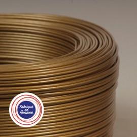 Câble scindex 2x0.50mm² or bronze