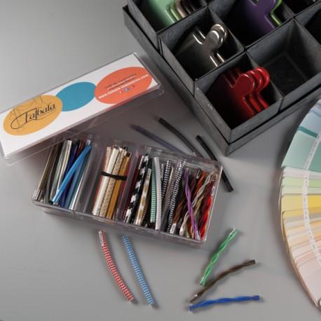Boîte d'échantillons toutes les couleurs - Falbala-luminaires