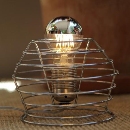 Standard led calotte argentée - 6W - Falbala-luminaires