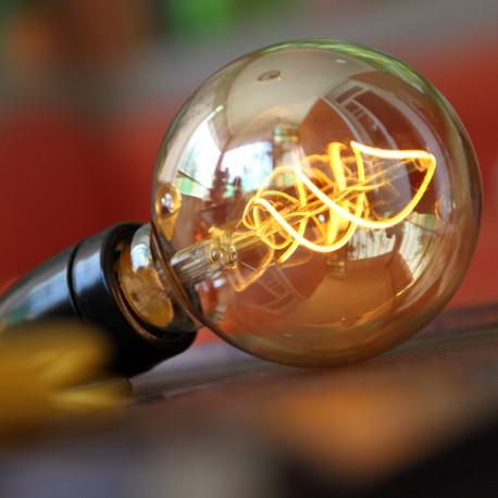La Twist ambrée - Falbala-luminaires