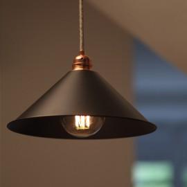 Réflecteur cône noir D300 - Falbala-luminaires