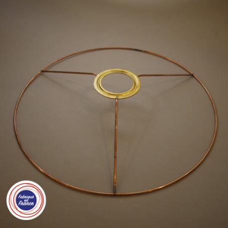 Cercle pour abat jour avec bague E27 - D28 - Falbala-luminaires