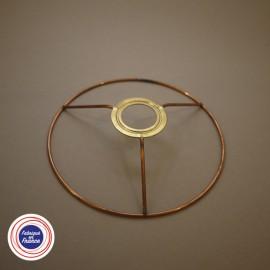 Cercle à bague pour abat-jour D15cm - E14-retrait 4