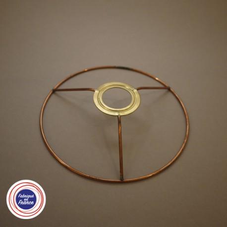 Cercle pour abat jour avec bague E14 - D15 - Falbala-luminaires