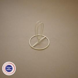 Cercle à pince flamme pour abat-jour D6cm