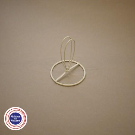 Cercle pour abat jour avec pince flamme - D6 - Falbala-luminaires