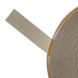 Galon textile plat adhésif beige - Falbala-luminaires