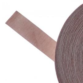 Galon textile plat adhésif rose ancien - Falbala-luminaires