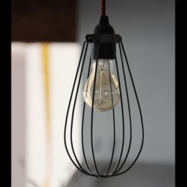 Cage noire - Falbala-luminaires