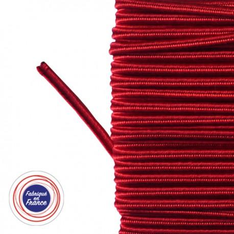 Galon textile soutache rouge