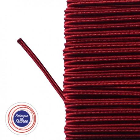 Galon textile soutache carmin
