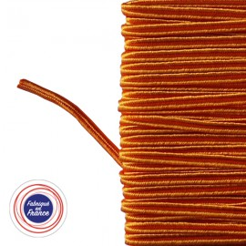 Galon textile soutache orange