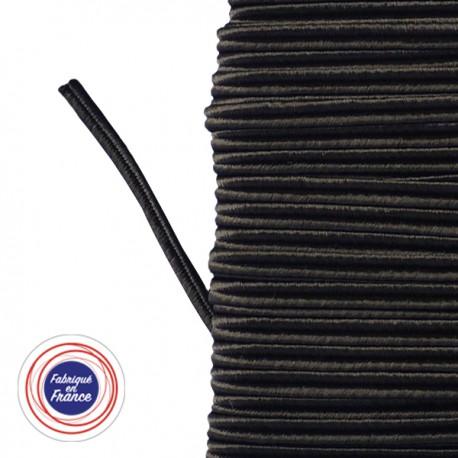 Galon textile soutache marron - Falbala-luminaires