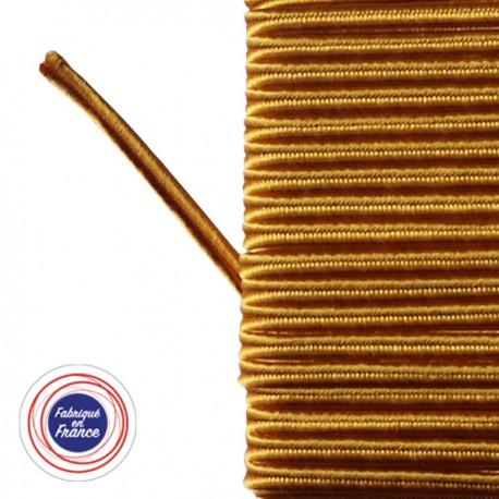 Galon textile soutache safran - Falbala-luminaires
