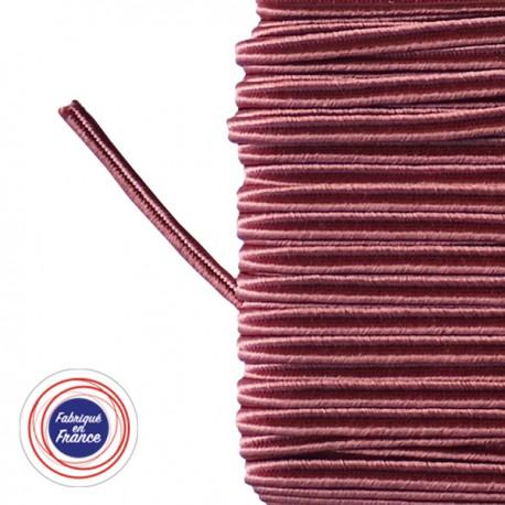 Galon textile soutache rose - Falbala-luminaires