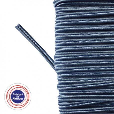 Galon textile soutache bleu orage - Falbala-luminaires