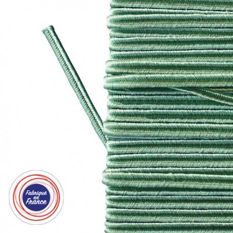 Galon textile soutache vert d'eau - Falbala-luminaires