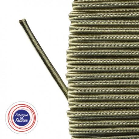 Galon textile soutache pistache - Falbala-luminaires