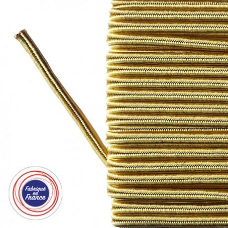 Galon textile soutache or - Falbala-luminaires