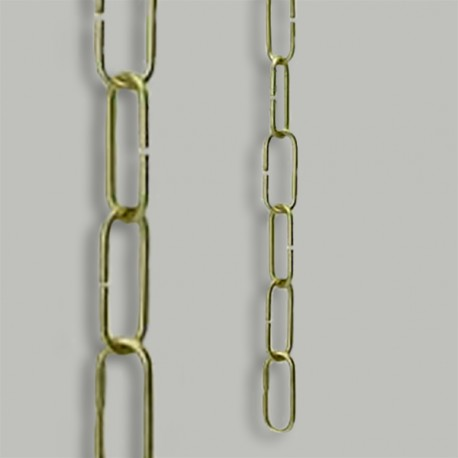 Chaine laiton PM - Falbala-luminaires