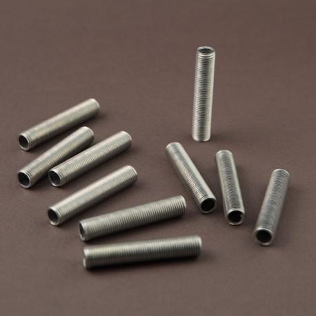 Lot tubulures filetées 10x1 L50mm - Falbala-luminaires