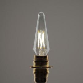 Flamme pyramide led E14 4 W