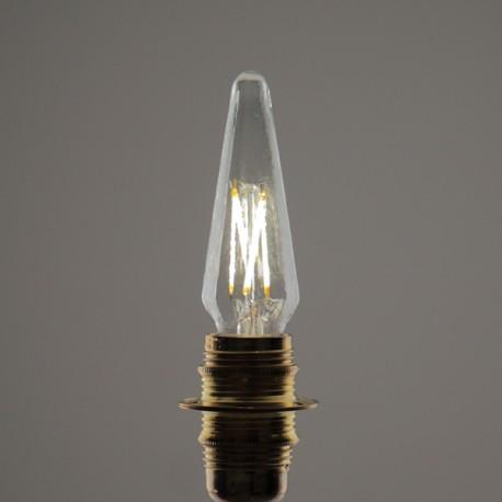 Flamme Pyramide Led E14 - 4 W - Falbala-luminaires