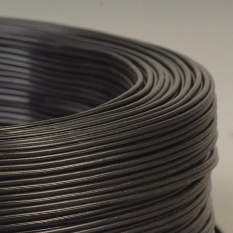 Câble scindex 2x0.75mm² noir - Falbala-luminaires