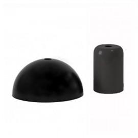 Pavillon et cache-douille noir