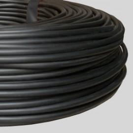 Câble rond PVC noir 4 x 0,75 - Falbala-luminaires